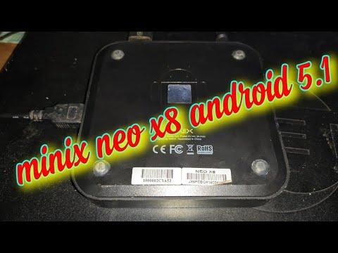 Dịch vụ nâng cấp phần mềm cho android box minix neo X8,X8h-plus,X7...lolipop 5.1 cho minix neo