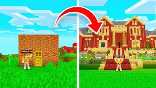 Upgrading My FIRST WORLD In Minecraft! (2010 vs 2020)