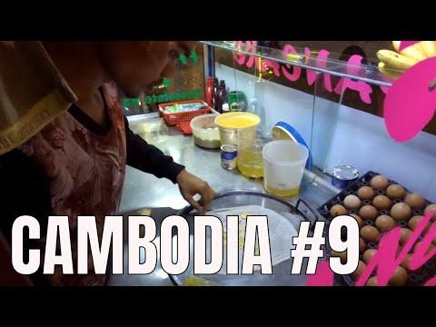 Cambodia Travel 🍨🍶Siem Reap Night Market (2018)
