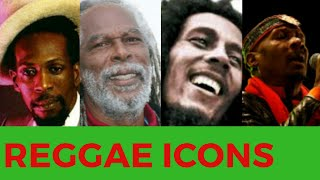 TOP 10 JAMAICAN REGGAE ICONS 2018