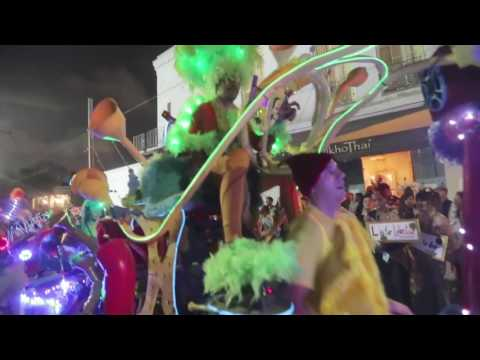 Krewedelusion Mardi Gras parade in New Orleans  2017