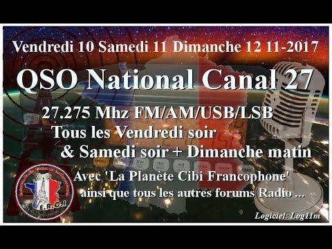 S11 11 2017 QSO National Cx27 section SudOuest