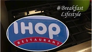 sAs #BreakfastLifestyle: IHOP Holiday Dark Chocolate Peppermint Pancakes