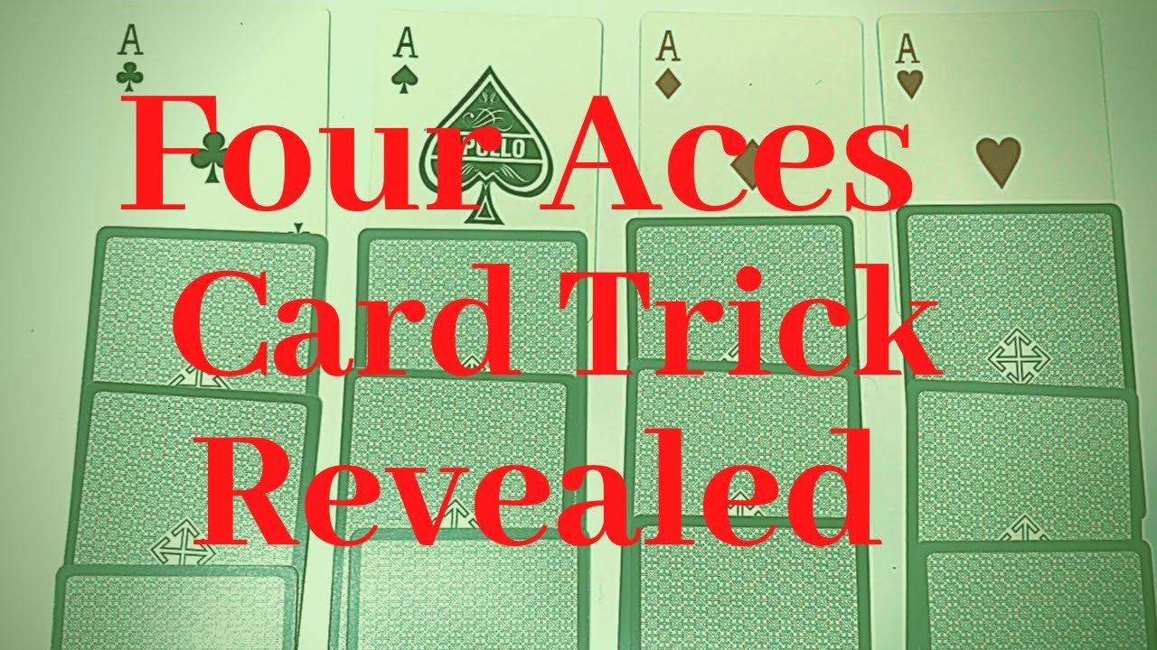Four Aces Card Trick