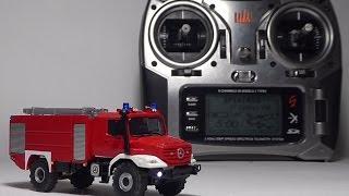 Zetros Fire Truck (Herpa) - RC 1:87 - Spektrum DX8 - tecnical details