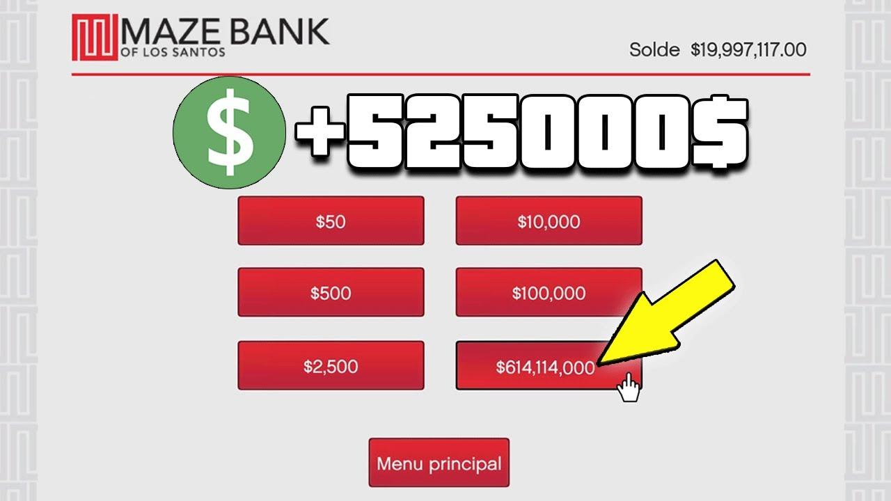 Code triche gta 5 online ps3 argent