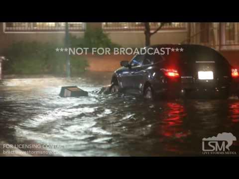 06-17-2017 Kansas City Missouri Westport Area Extreme Flooding Power Outages Tree Damage