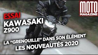 KAWASAKI Z900  2020 -  La grenouille sous la pluie
