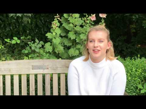 Leeds Beckett University student Lauren Gilbert talks about her experience of Clearing.