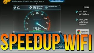 100% working trick for speed up wifi speed