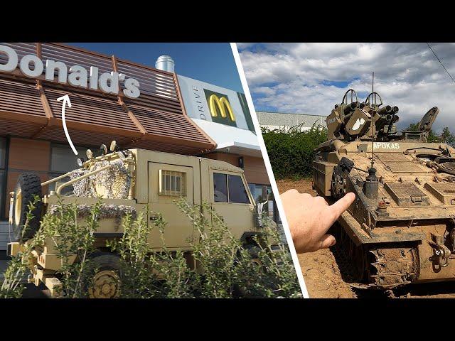 Al McDonald con IVECO VM90 • Anteprima Carri Armati