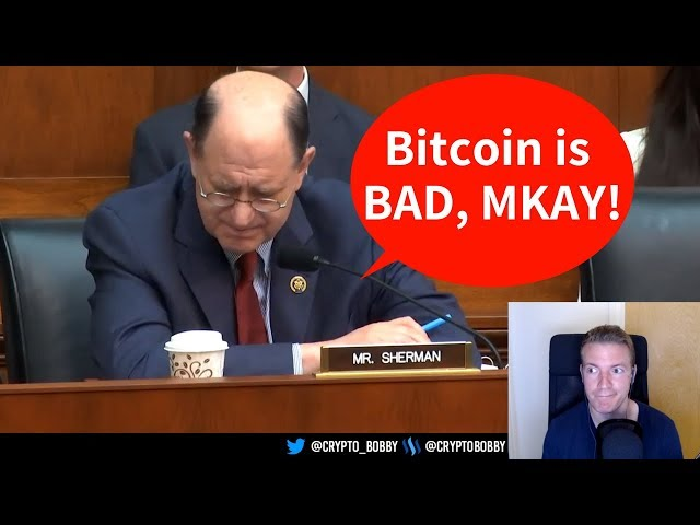 Crypto is Only For Tax Evaders and Nefarious Actors, Obviously