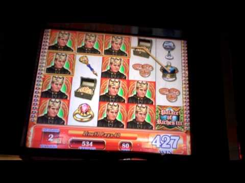 Palace of Riches III bonus Slot Win at the Borgata Casino