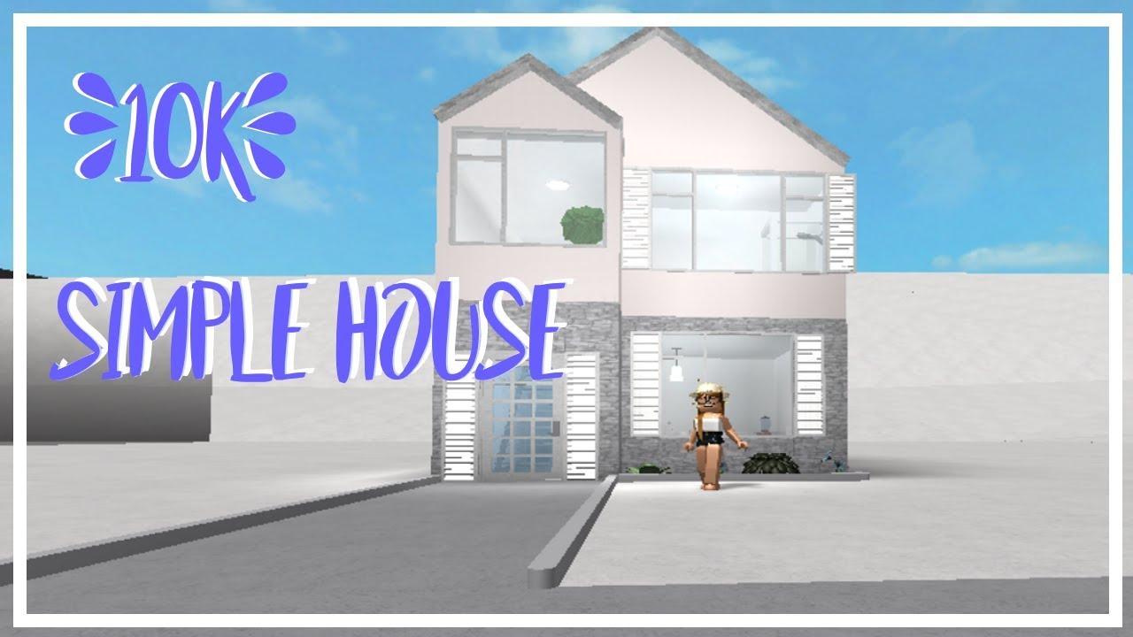 10k house bloxburg Simple YouTube
