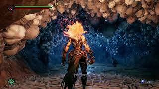 Darksiders 3 Rescue Human Near the Tangled Grotto Serpent Hole