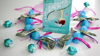 How to Make a Butterfly Money Lei for Graduation using Candy