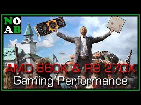 AMD Athlon 860K and R9 270X Gaming Performance - Far Cry 5, Fortnite, PUBG, Overwatch, and More