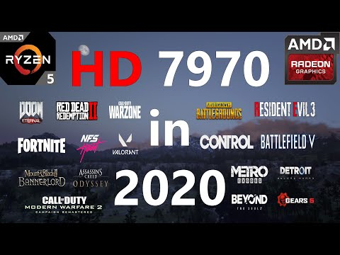 HD 7970 Test In 25 Games In 2020