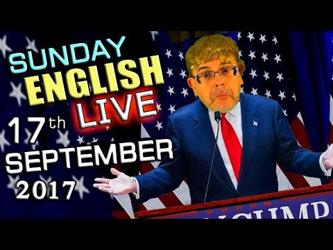 LIVE English Lesson - 17th SEPT 2017 - Learn English - GRAMM