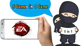 5 game in 1 Game !! Ea Replay !! Android !! Hindi