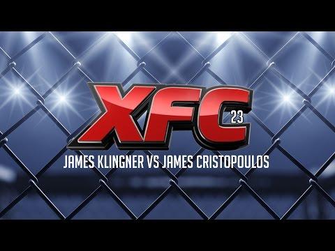 XFC 23 James Klingner vs James Cristopoulos