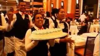 Первый ужин в Hotel Riu Palace Bavaro Доминикана. FFI