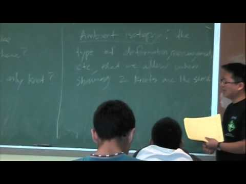 Knot Theory 9-22-2010 part1