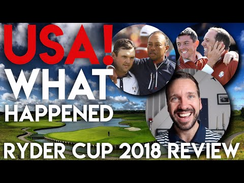 WHAT Happened To Team USA!? Ryder Cup 2018 Review Mp3