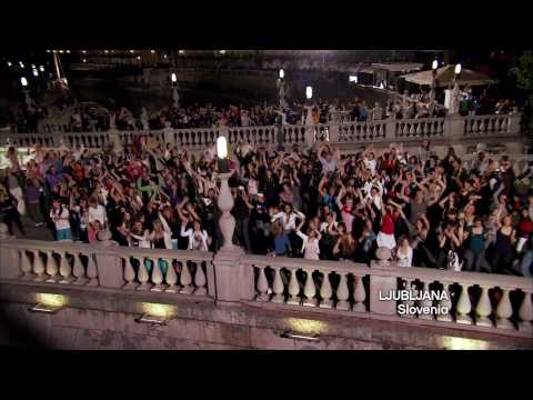 Eurovision Song Contest 2010 - Eurodance Flashmob (Madcon - Glow) 1920x1080 [HD]