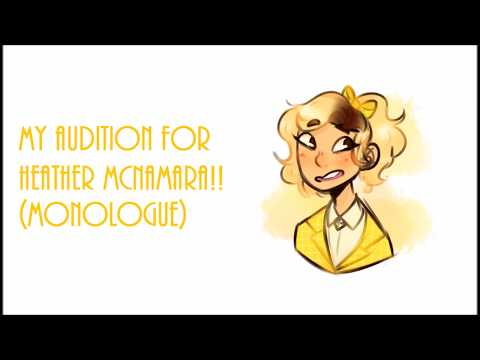 Monologue audition for Heathers the online musical