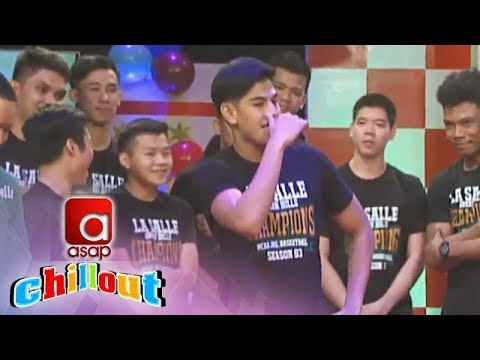 ASAP Chillout: Who is NCAA Jr. Basketball champions La Salle Greenies's most admired heartthrob?