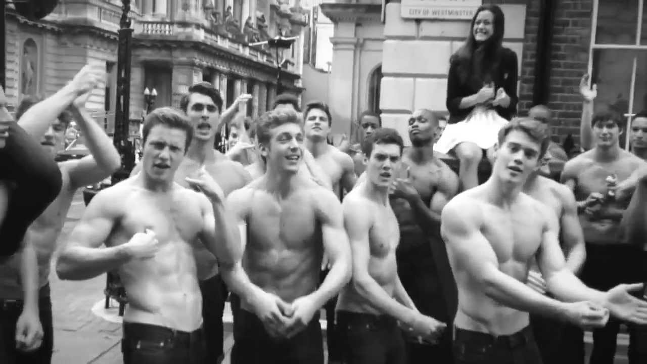 the hottest @abercrombie & fitch guys, 'call me maybe' by carly rae