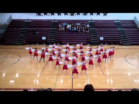 Crockett High School dances to Umbrella by Joseph Leo Bwarie