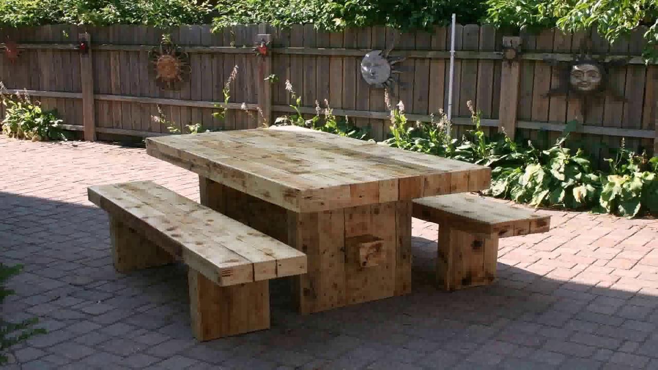 Diy patio furniture ideas pinterest