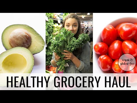 HEALTHY GROCERY HAUL | vegan + gluten-free