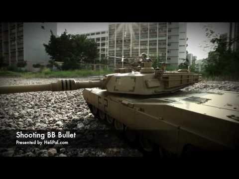 HeliPal.com - RC M1A2 Abrams Tank (1/24)