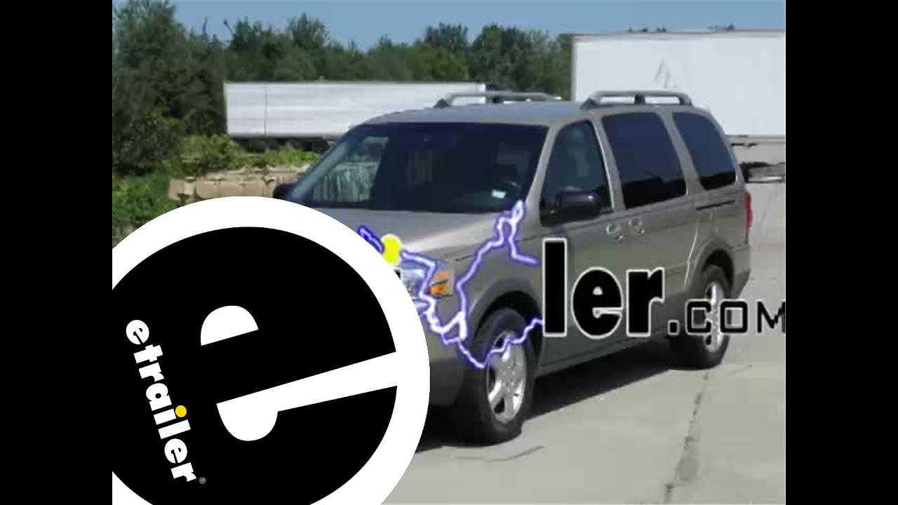 trailer wiring harness installation - 2006 pontiac montana - etrailer com