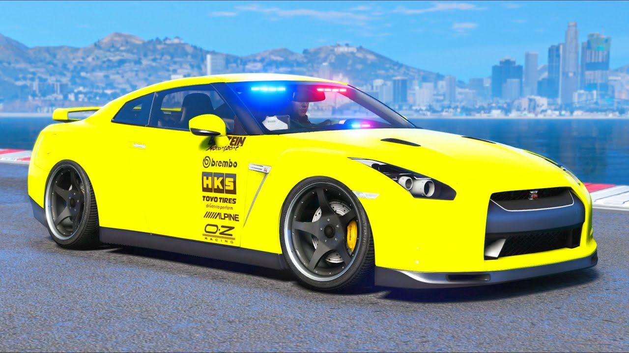 This is the BEST Police Undercover GTR!! (GTA 5 Mods)