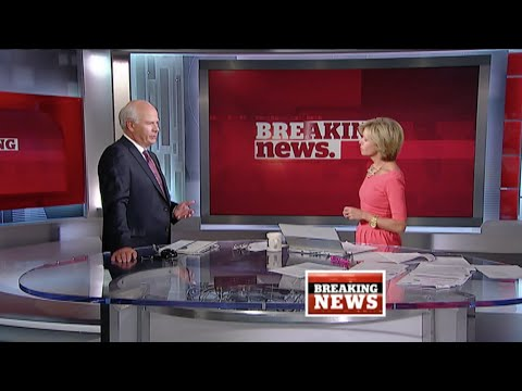 Peter Mansbridge announces the death of Jack Layton on CBC News Network