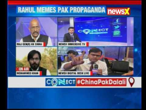 NewsX Connect: Netas bicker at home as India's power play changes world view on PoK