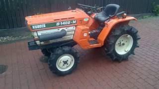 Mini ciągnik ogrodniczy Kubota 1402-M. www.traktorki.waw.pl
