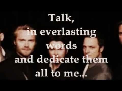 WORDS (Lyrics) - BOYZONE