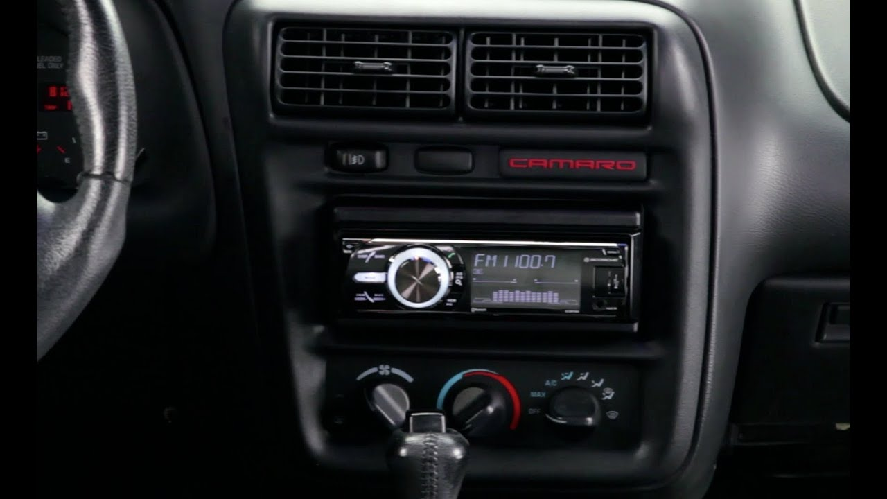 Basic installation of an aftermarket stereo into a GM vehicle  YouTube