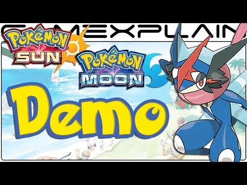 Pokémon Sun & Moon Demo Gameplay (Livestream Archive)