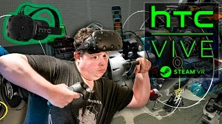 HTC Vive -or- Oculus Rift? Let me show you.(My friend Jesse (aka. TribalInstincts) invited me over to try his HTC VIVE pre-release virtual reality setup and I share my in-depth experience with it. I have to say ..., 2016-02-29T14:00:03.000Z)