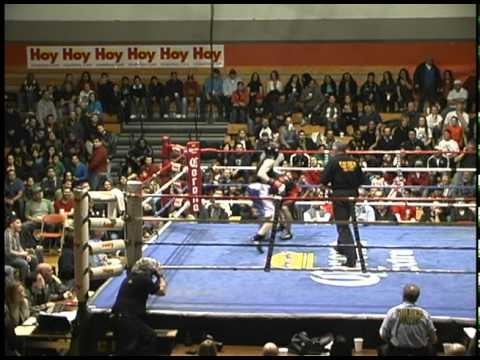 Chicago Golden Gloves 3-18-11: Jim Flanigan vs. Felipe Hernanadez