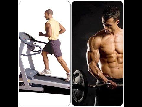 Cardio, antes o después de las pesas