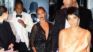 Jay Z Attacked By Solange Knowles In TMZ Fight Video