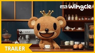 [Official] Cafe Wingcle | Trailer | Love in an Cup of Coffee | Stop Motion Animation