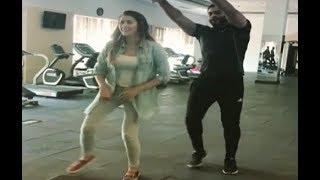 معكم منى الشاذلي - عائشة بن أحمد ترقص لاتيني بتمَكُن